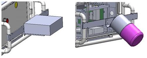 电力巡线机器人三维采集系统