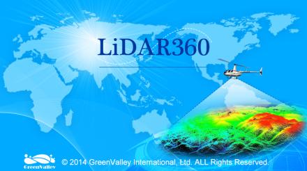 LiDAR360点云处理软件 V2.0