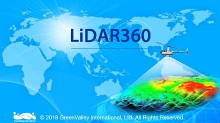LiDAR360激光雷达点云数据处理分析软件