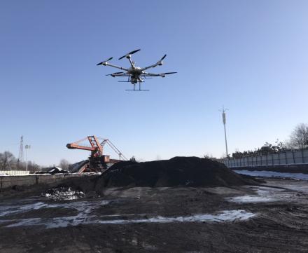解决方案 | 基于无人机平台应用激光雷达技术计算煤堆体积
