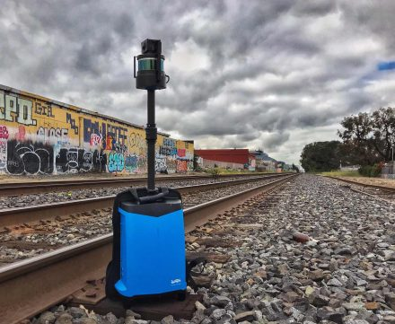 LiBackpack C50快速扫描会场,精彩呈现真彩色点云